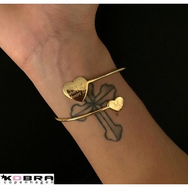 Guld armbånd