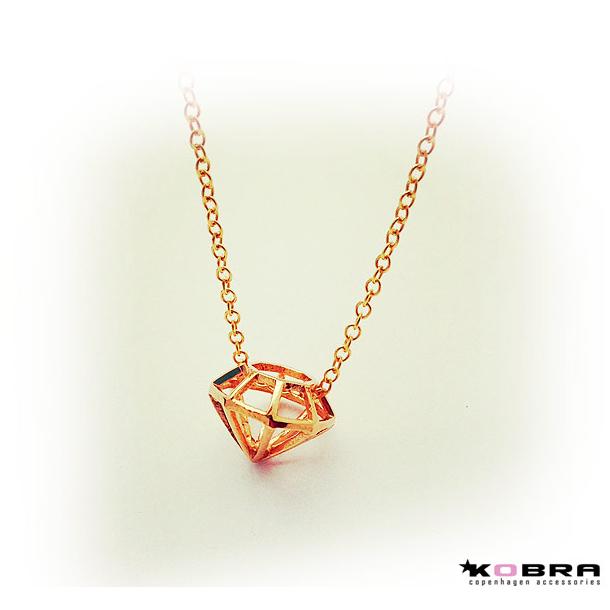 halskæde i guld