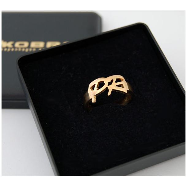 Håndlavet navnering i guld, lavet personligt til dig