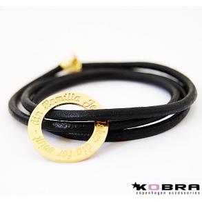0fed4ee83a3 Læderarmbånd med charms og vedhæng - Køb læder armbånd til kvinder ...