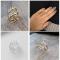 Unik sølv ring