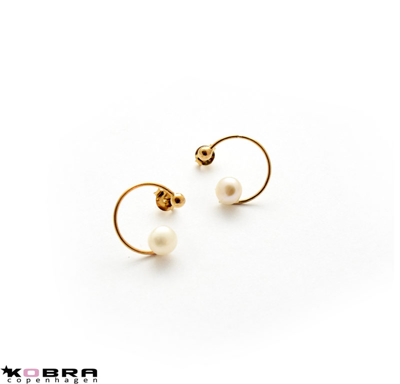 gold white delicate earrings carat fill golden earring jewellery moonstone dangle womens small hoop pin
