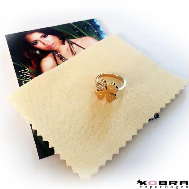 Smykkeklud til rensning af smykker