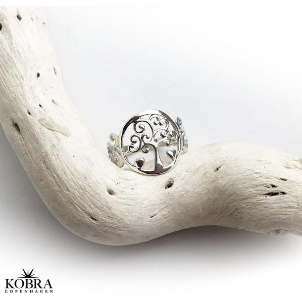 Sølv ring med Livets Træ