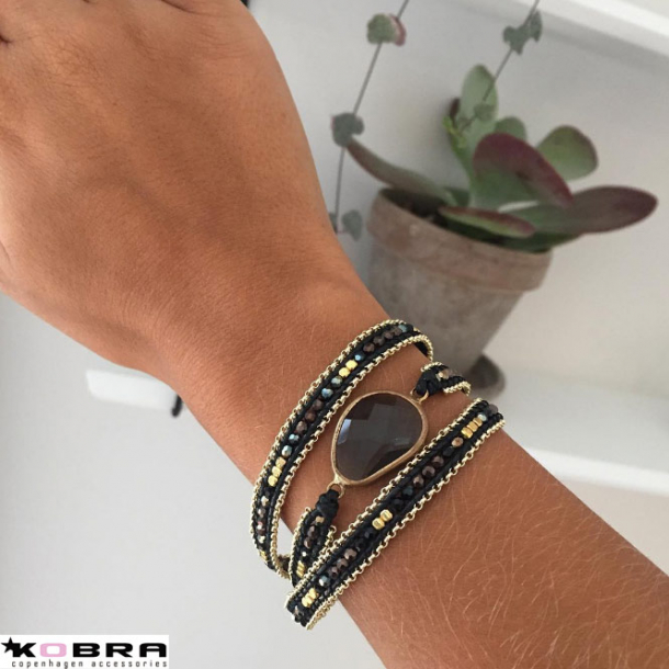 Perle armbånd