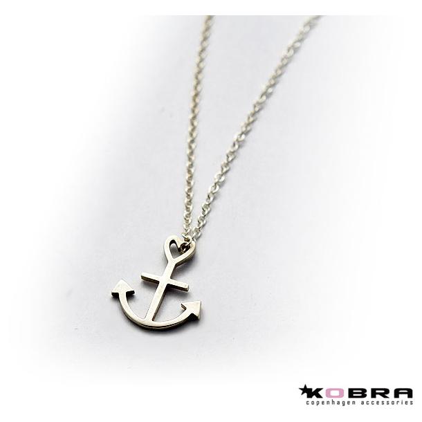 Tro, Håb og Kærlighed, sølv halskæde med symbol